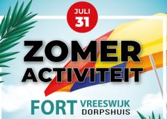 Speurtocht, kampvuur en broodjes bakken op Fort Vreeswijk