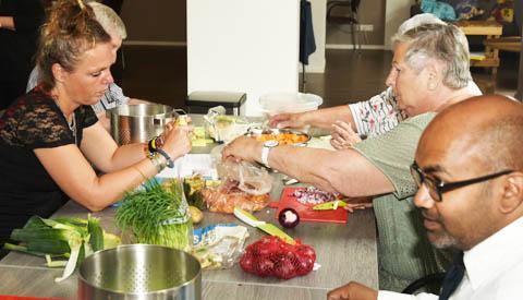 AHN Kookworkshop: 'Creatief koken met een beperkt budget'
