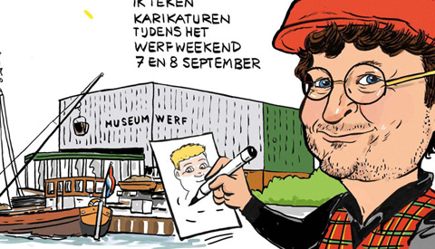 PENTekening: 'Werfweekend met een Duits tintje'