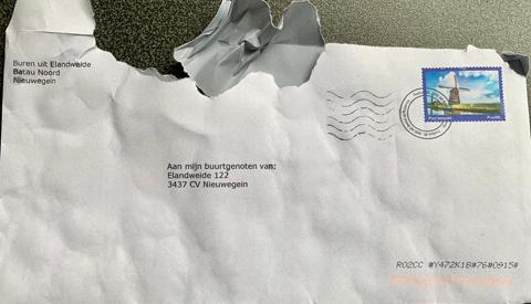 Nieuwegeiners boos over ontvangen brieven van Nextdoor