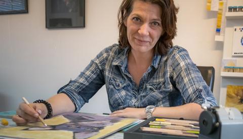 Portret van de week: 'Wie werkt daar zo graag met met soft pastels in Nieuwegein?'