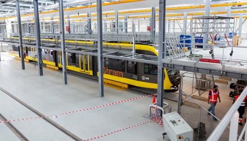 Video: 'Nieuwe werkplaats open voor trams'