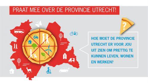 Provincie Utrecht zoekt jongeren: 'Praat mee en zeg het voort'