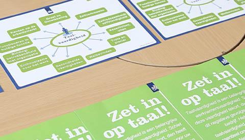 Week van de Alfabetisering met thema: 'Durf!'