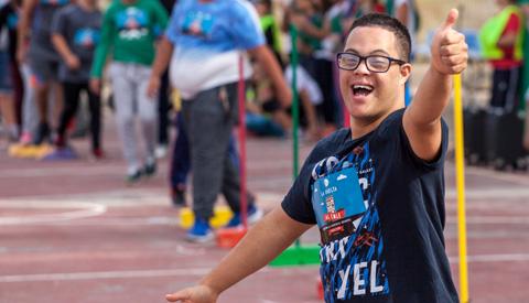 G-volleybal, rolstoelbasketbal, tafeltennis en nog veel meer bij 'Iedereen kan sporten dag'