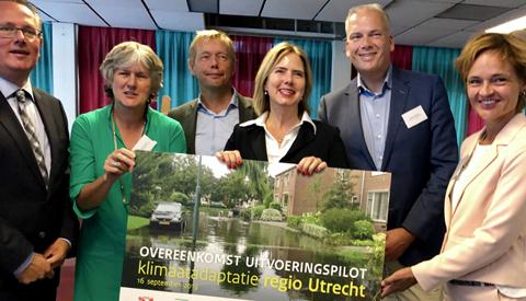 Rijksbijdrage van 802.000 euro klimaatbestendige wijken in de regio Utrecht