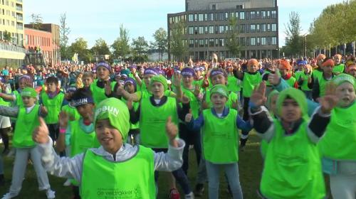 Breken de leerlingen van Stichting Robijn het wereldrecord Capoeirales?