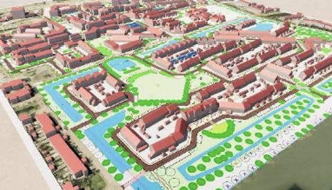 Ruim 130 bewoners zagen de vernieuwde Schansen-Noord in Fokkesteeg in 3D