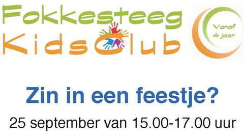 Feestelijke opening KidsClub Fokkesteeg