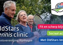 OldStars tennis bij TV Rijnhuyse