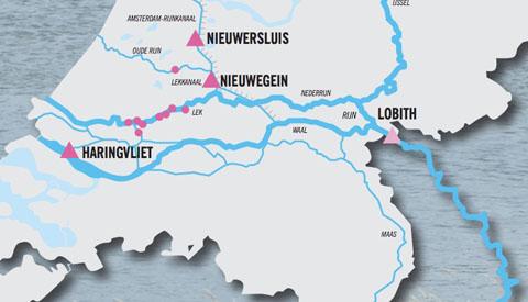 'Kwaliteit Rijn verbetert niet' zo blijkt uit het rapport van RIWA-RIJN uit Nieuwegein