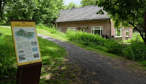Initiatieven gezocht voor Fortwachterswoning in Rijnhuizen