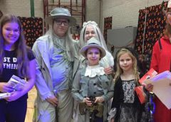 Geslaagd Halloweenfeest in Fokkesteeg