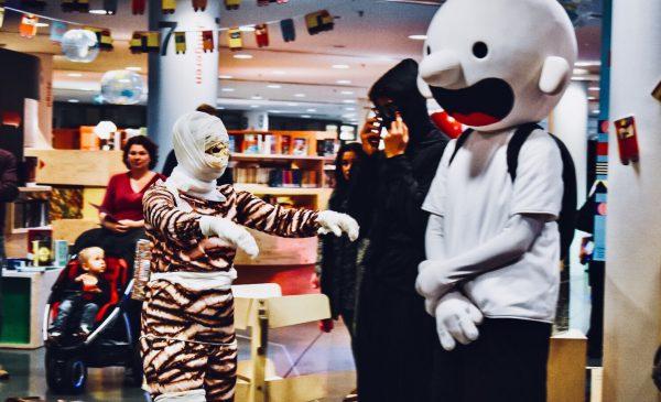 Ruim 80 kinderen vierden Kinderboekenweekfeest in de bieb