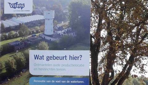 Sloop voormalig drinkwaterproductiebedrijf in Nieuwegein