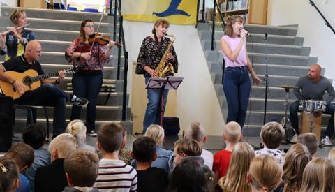Aftrap Rock The Orchestra! bij De Vleugel