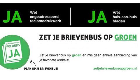 D66 wil einde aan ongewenste reclamefolders