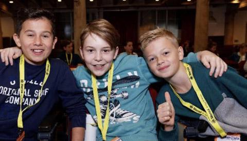 Podiumplaats landelijke finale SlimmerIQuiz voor leerlingen uit Nieuwegein