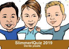 PENTekening: 'Drie knappe koppen van de SlimmerIQuiz'