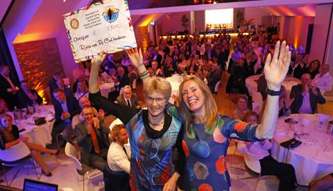 Rotary Nieuwegein verdeelt op Benefietavond bijna 25.000,- euro