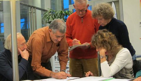 Workshop 'tekenen met grijs potlood' met architect Emad Al Fatly