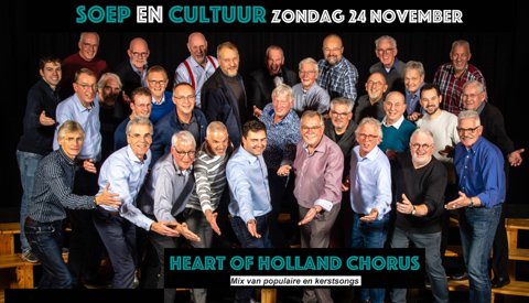 Heart of Holland Chorus in Dorpshuis Fort Vreeswijk