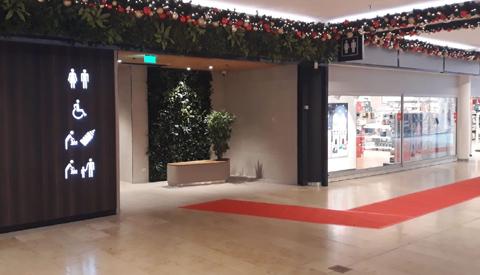 Winkelcentrum Cityplaza rolt rode loper uit naar gloednieuwe openbare toiletten