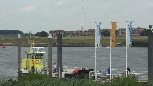 Bijzonder transport richting Museumwerf Vreeswijk