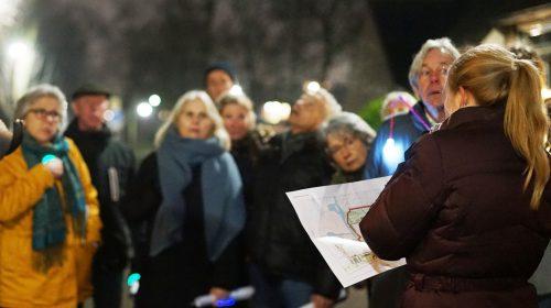 Wandelen door het schetsontwerp van Schansen-Zuid