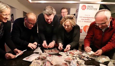 Nieuwegeiners leveren al 300.000 DE-spaarpunten in