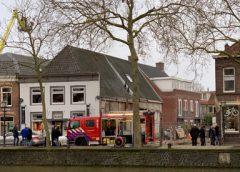 Videobeelden grote brand in Grillroom Kings Valley in Vreeswijk