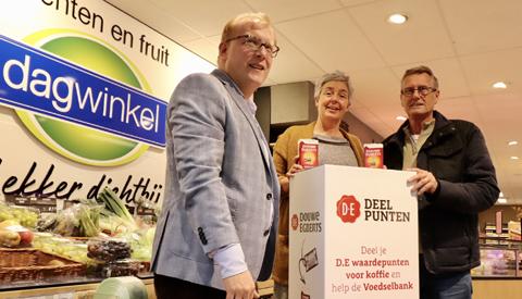 Lions Club Nieuwegein zoekt Douwe Egberts Waardepunten voor de Voedselbank