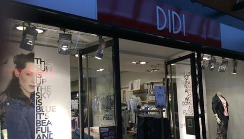 Dameskledingzaak Didi failliet, winkels blijven voorlopig open