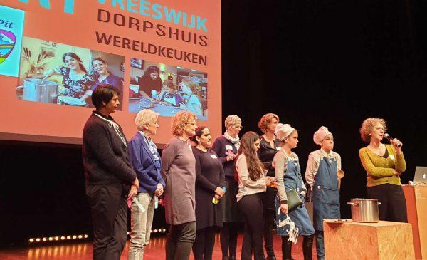 'Wereldkeuken' van Dorpshuis Vreeswijk beste buurtinitiatief in de Provincie Utrecht