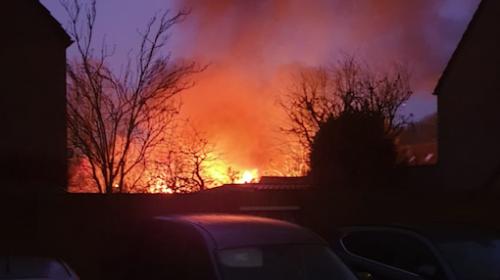 Schuurtjes vliegen in de brand aan de Braamgaarde