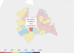 Over 2019: 'Nieuwegein kent 1 inbraak per 182 huishoudens'