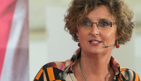 Alma Feenstra per 1 mei 2020 fractievoorzitter GroenLinks in Nieuwegein