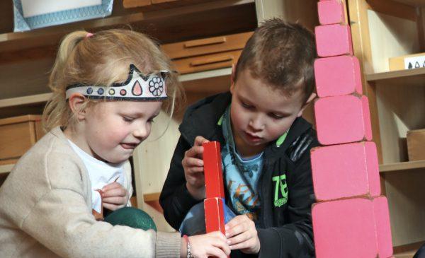 Peuterdag op Montessorischool De Vleugel