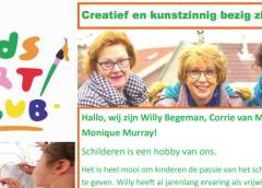 Kids Art Club weer actief!