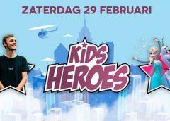 Kids Heroes Festival op winkelcentrum Cityplaza