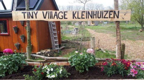 Tiny VIllage Kleinhuizen, een terugblik en de toekomst