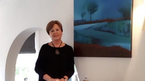 """Expositie """"Landschappen"""" van Wil Jongstra in De Middenhof"""