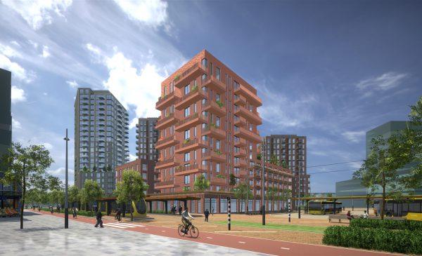 Woningbouw in Stationsgebied City