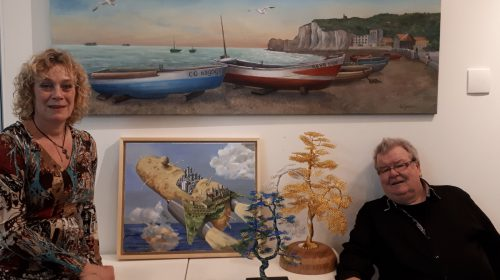 Expositie: 'Natuur(lijke) kunst  in 2D en 3D'