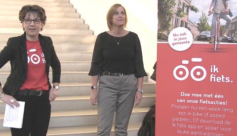 Campagnemaand 'Ik Fiets' van start in Nieuwegein