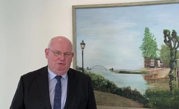 Toespraak burgemeester Frans Backhuijs over het Coronavirus