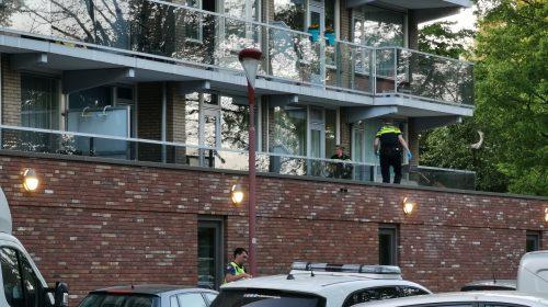 Update: Man overleden na val van flat aan het van Herwijnenplantsoen