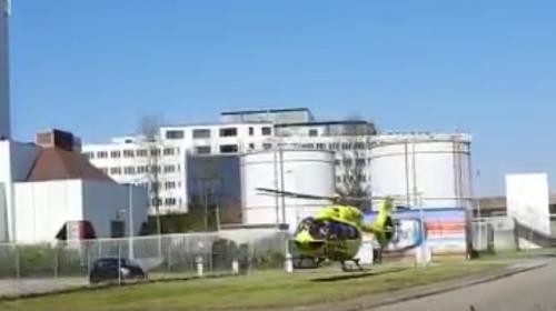 Antonius Ziekenhuis krijgt tijdelijke landingsplaats voor een traumahelikopter