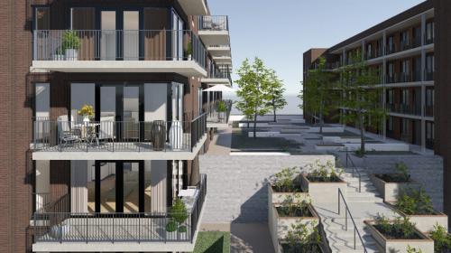 58 Duurzame en luxe appartementen in Rijnhuizen