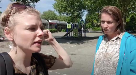 Vloggende leraren bij basisschool Vroonestein
